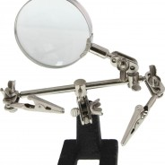 Soldering Hobby Station with Magnifying Glass – Helping Hands