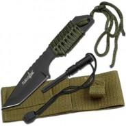 Survivor Fixed Blade Knife WITH FIRE STARTER