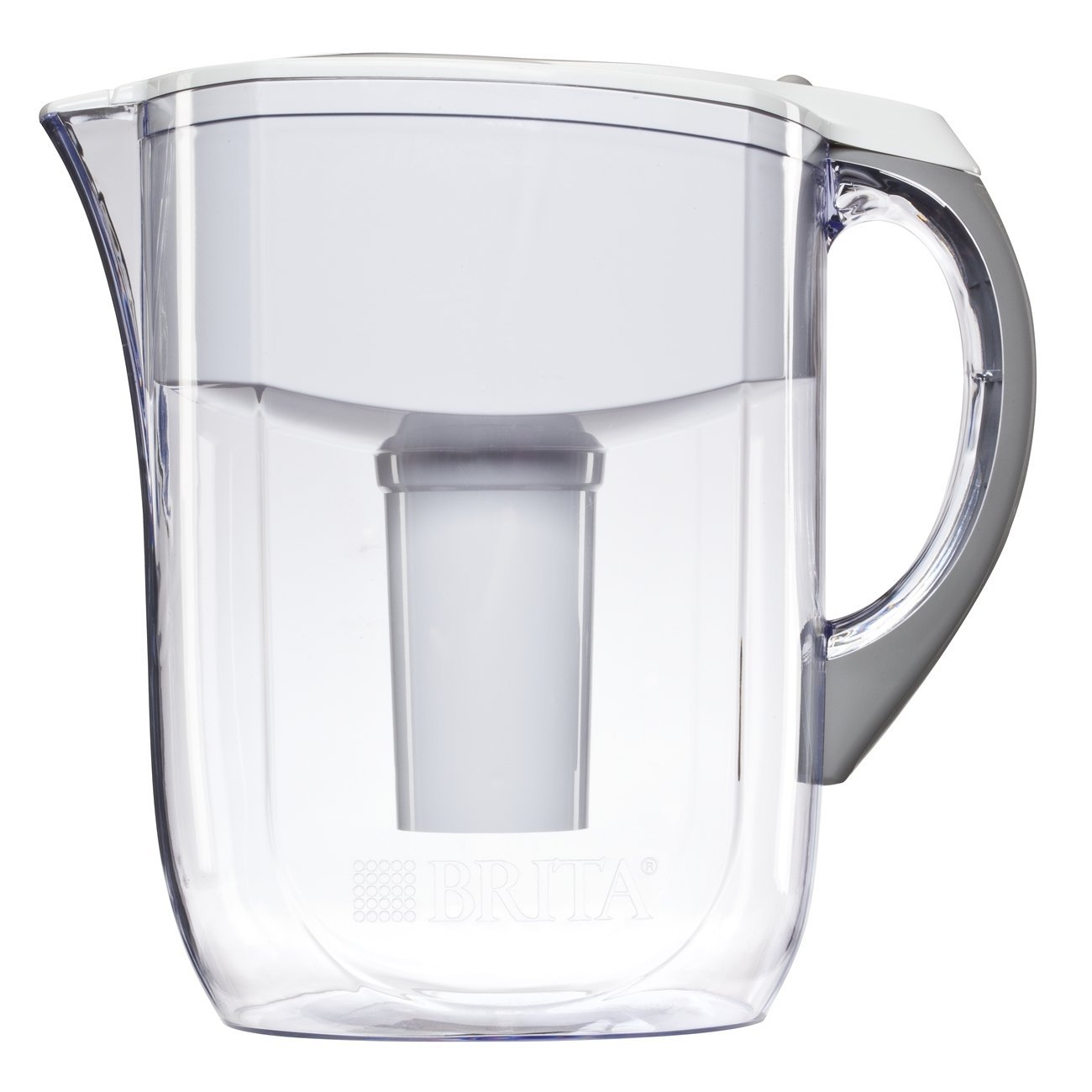 brita grand water filter pitcher white gizmos gadgets. Black Bedroom Furniture Sets. Home Design Ideas