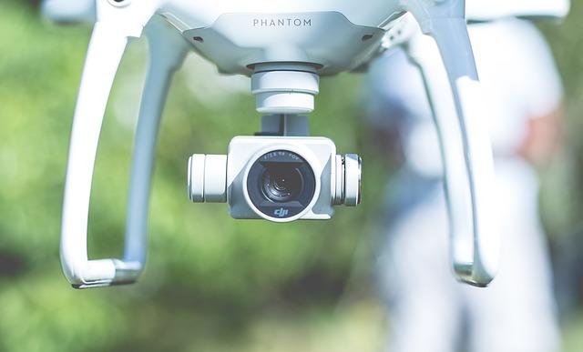 camera, drone, flying